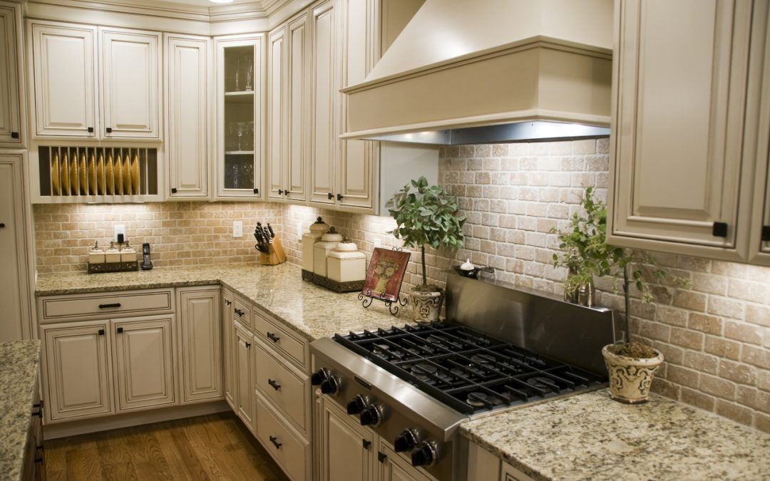 new counter tops are a great way to improve your kitchen